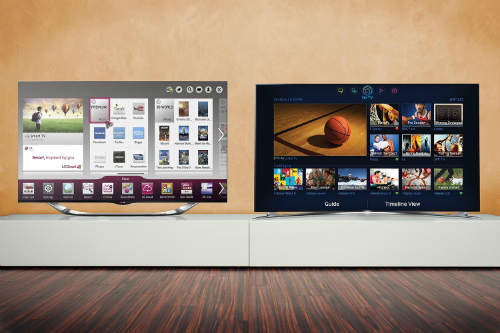 smart tv samsung vs lg